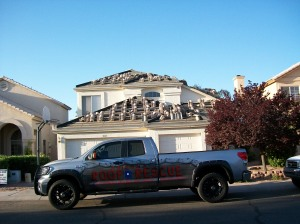 Wright Tile Roofing Project